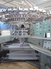 Кругловязальное оборудование для производства трикотажного полотна